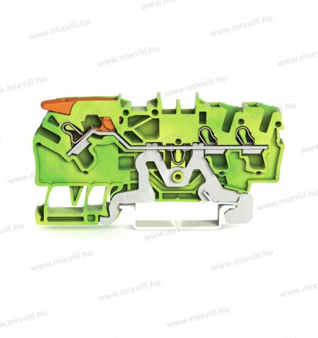 WAGO_2102-1307-Topjob-3-vezetekes-atmeno-foldelo-sorkapocs-mukodteto-karral-24A-zold