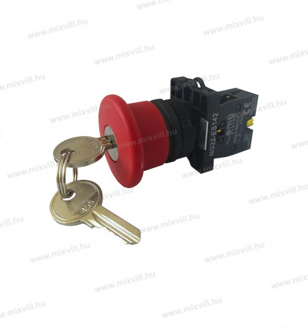 NG22-ES142-kulcsos-gombafeju-veszgomb-piros-d40