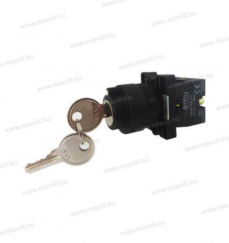OMU-system-NG22-EG03-3-allasu-kulcsos-kapcsolo-a-kulcs-allasban-kihuzhato