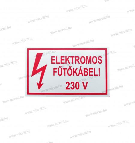 Matrica_Elektromos_futokabel_piros