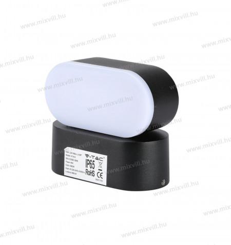 v-tac-sku-8288-kerti-fali-led-lampa-6w-ip65-fekete-meleg-fehér-3000K_5