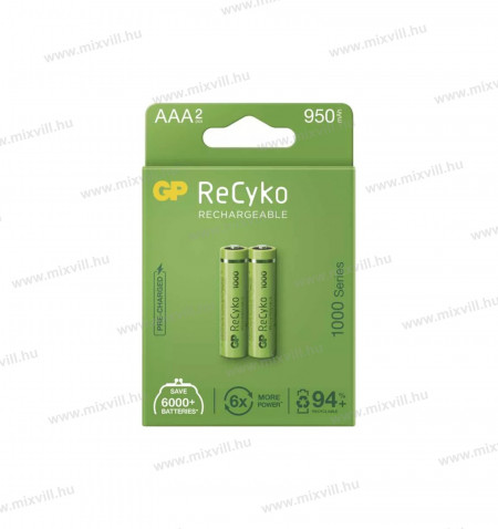 ceruza_elem_akkumulator_GP_RECYKO_AAA_HR03_950mAh_B2111