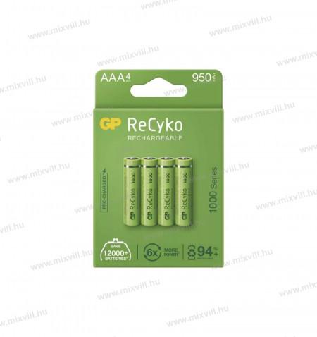 ceruza_elem_akkumulator_GP_RECYKO_AAA_HR03_950mAh_B21114_