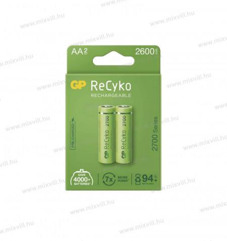 ceruza-elem-akkumulator-GP-RECYKO-AA-HR6-2700mAh-B2127