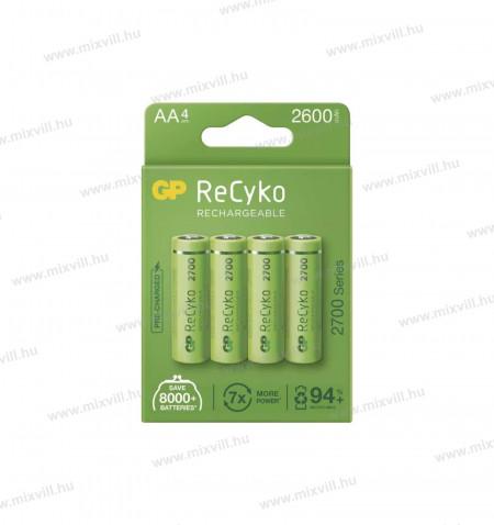 ceruza-elem-akkumulator-GP-RECYKO-AA-HR6-2700mAh-B21274