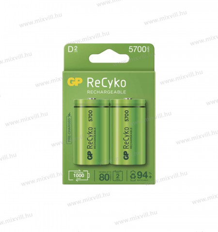 GP-RECYKO-D-HR14-Baby-akkumulator-5700mAh-NiMH-B2145