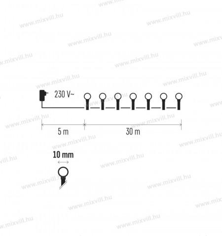 Led-Karacsonyi-led-fenyfuzer-dekoráció-kulteri-Cherry-30m-meleg-feher-golyo-emos_ZY1603