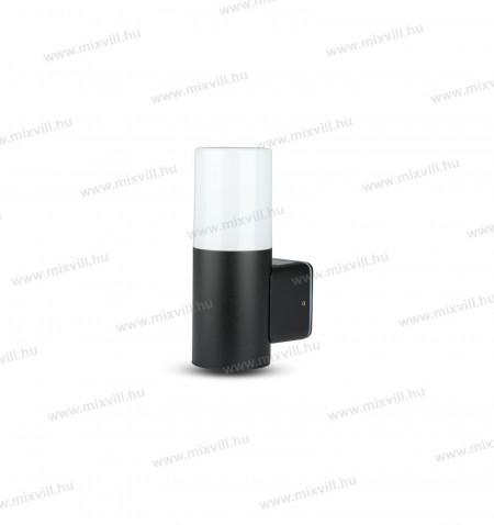 V-TAC-SKU-7566-kulteri-fali-lampatest-henger-IP54-GU10-foglalat-fekete