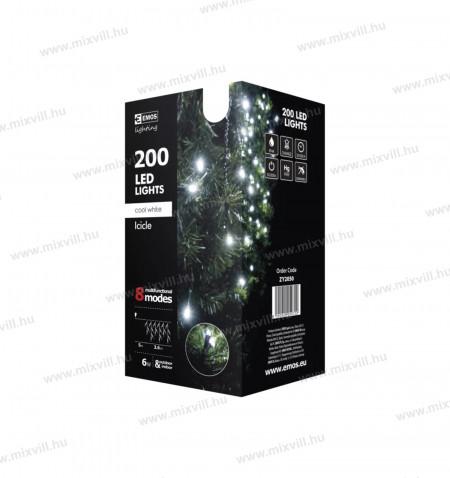 Karacsonyi-led-fenyfuzer-dekoracio-200-3,6m-kulteri-IP44-6W-230V-emos-ZY2050