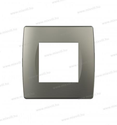MODUL SOFT-diszitokeret-2M-TI-titanium-OS20TI-26509-kapcsolokeret