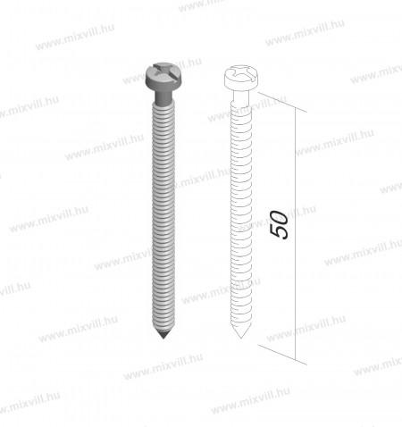 MODUL-CM19-53040-csavarszett-szerelokeret-rogzites-3,5x50-50db-meret