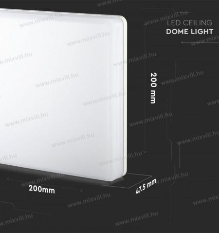 V-TAC-SKU-13919-kulteri-mennyezeti-lampa-szogletes-15W-IP44-6400K-hideg-feher