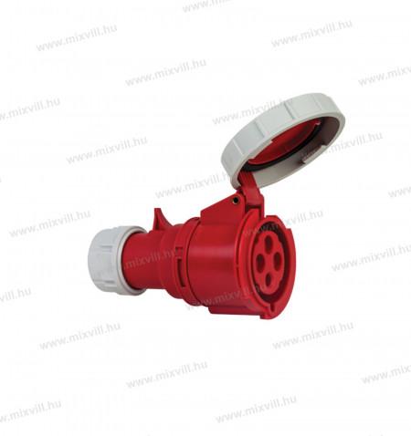 XBS-ILAV-324-ipari-lengo-aljzat-csatlakozó-32A-4-polus-vizmentes-406410V-IP67