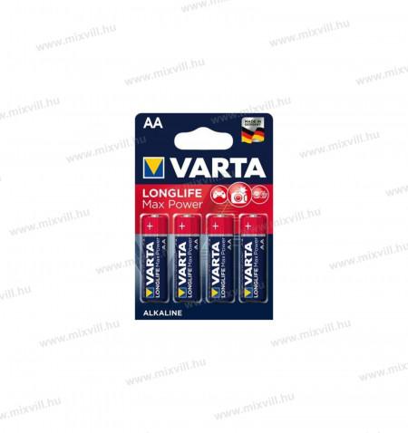 Varta-MAX-Tech-Longlife-Max-Power-alkali-ceruza-elem-AA-BL4