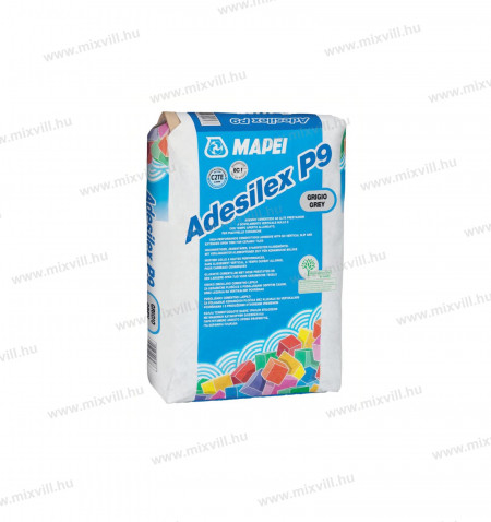 MAPEI-Adesilex-P9-25kg-nyujtott-nyitott-ideju-ragasztohabarc-kerámia-burkolat
