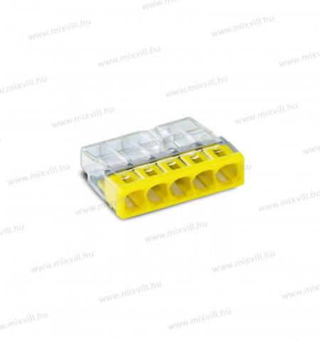 2273-205_wago-vezetekosszekoto_5x0,5-2,5mm2-vezetek-mcu-tomor