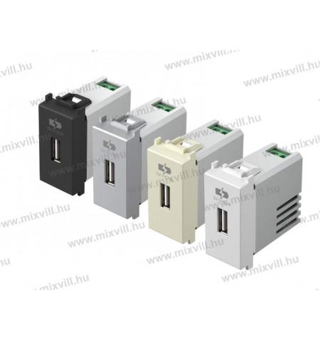 EM66_1_modulos_USB_tolto_aljzat_5V_2,1A_kapcsolo