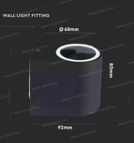 sku-7508-v-tak-elegans-modern-fali-lampa-gu10-spot-foglalat-fekete-kuler
