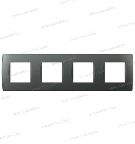 MODUL-SOFT-diszitokeret-4x2modulos-antracit-keret-OS28AT-vizszintes