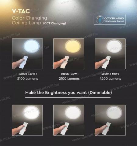 V-TAC-SKU-14551-Led-designer-mennyezeti-lampa-taviranyito-60W-IP20-3000K
