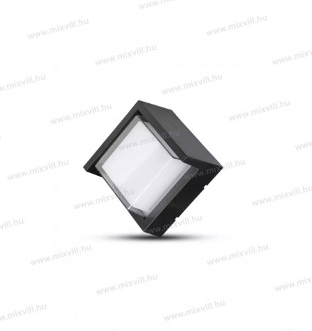 sku-8610-led-kulteri-fali-lampa-7w-meleg-feher-feny-fekete-szogletes-v-tac