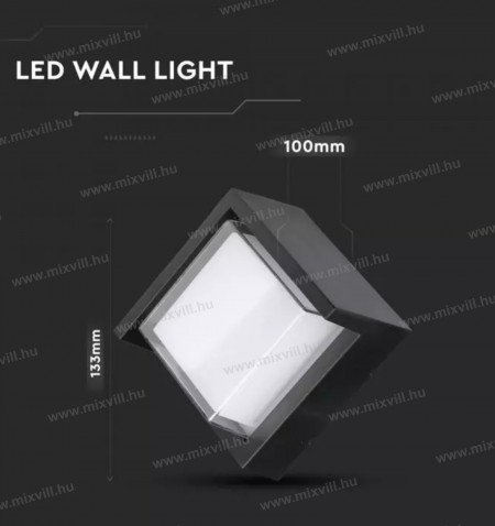 sku-8610-led-kulteri-fali-lampa-7w-meleg-feher-feny-fekete-meret-v-tac
