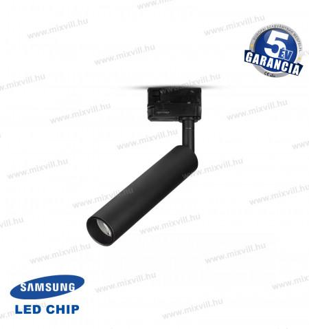 SKU-354-V-TAC-Led-Track-Light-Sines-Lampa-fekete-7W-4000K-Samsung-Chip-5-ev