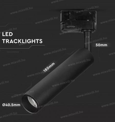SKU-354-V-TAC-Led-Track-Light-Sines-Lampa-fekete-spot-7W-4000K-Samsung