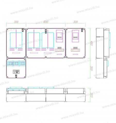 PVT-a-V-Hv-Fm 80A-K-Egy-merohelyes-63A-80A-vezerelt-h-tarifa-foldkabel-felület-fogyasztasmeroszekren